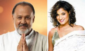 Alok Nath and Sandhya Mridul