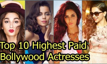 Highest paid bollywood actresses 2018