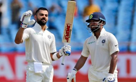 India Vs West Indies 2018 First Test Day 2 Highlights