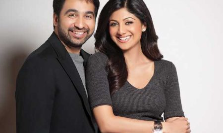 Shilpa Shetty and her husband