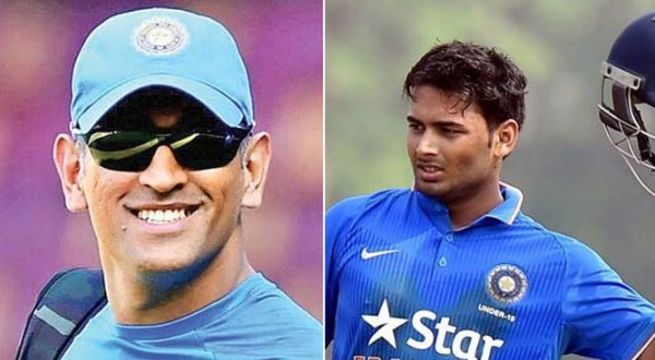 dhoni and pant