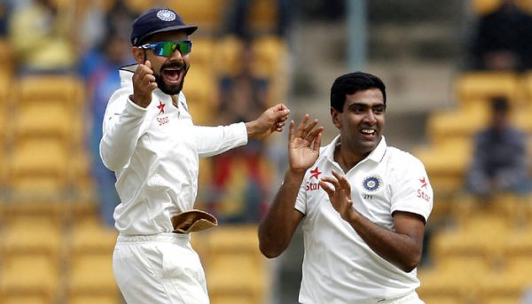 Kohli and Ashwin