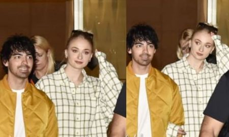 joe jonas and sophie arrived in India