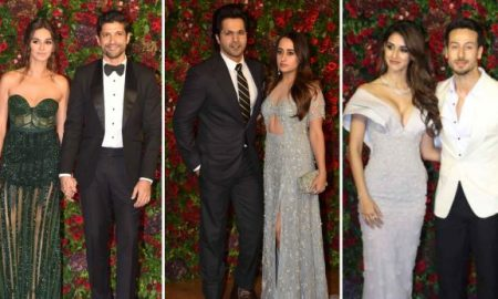 Unmarried couples at Deepveer reception