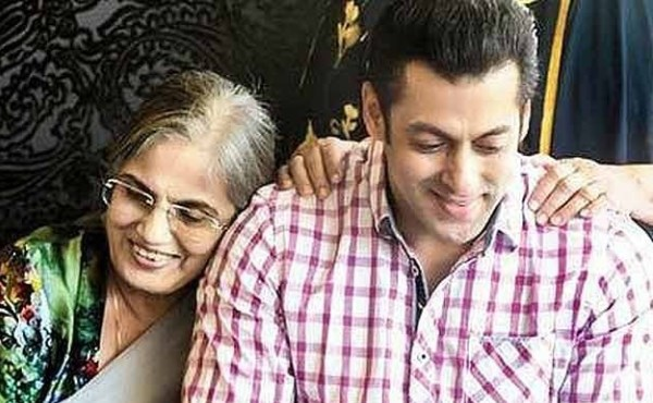 salman and his mother