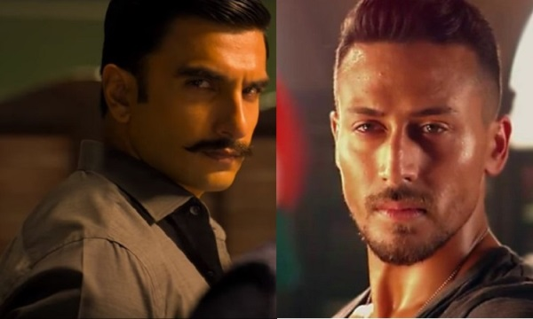 Tiger shroff and Ranveer Singh