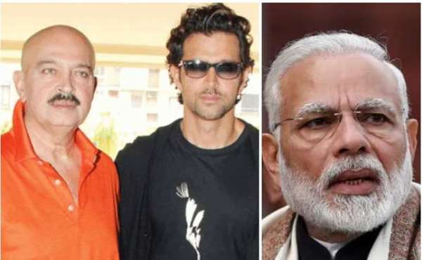 Rakesh Roshan and PM Modi