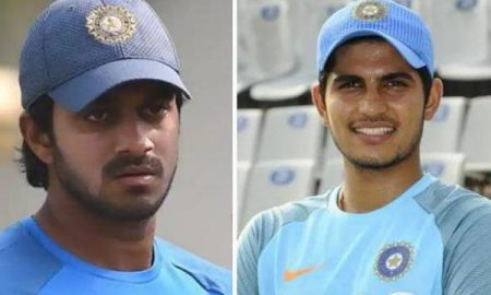 Shubman Gill and Vijay Shankar