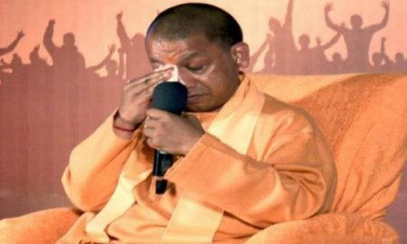 yogi gets emotional talking about pulwama martyres