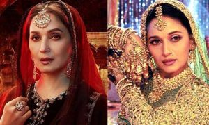 madhuri played courtesan in these films